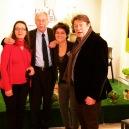 Con Eduardo Mendoza, Ana Lorente y Luis Cepeda
