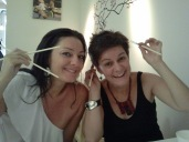 Con mi hermana Marta