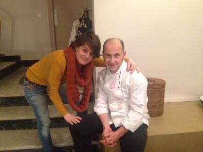 Con mi gran amigo y querido Joaquín Felipe